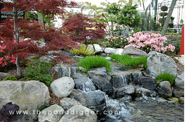 Waterfall design image home staging accessories 2014 for Garden pond design and construction