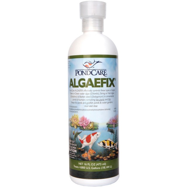 Pond care algaefix 16oz the pond digger for Ornamental fish pond maintenance
