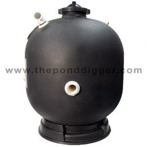 Static suction prefilter for Settlement tank for koi pond