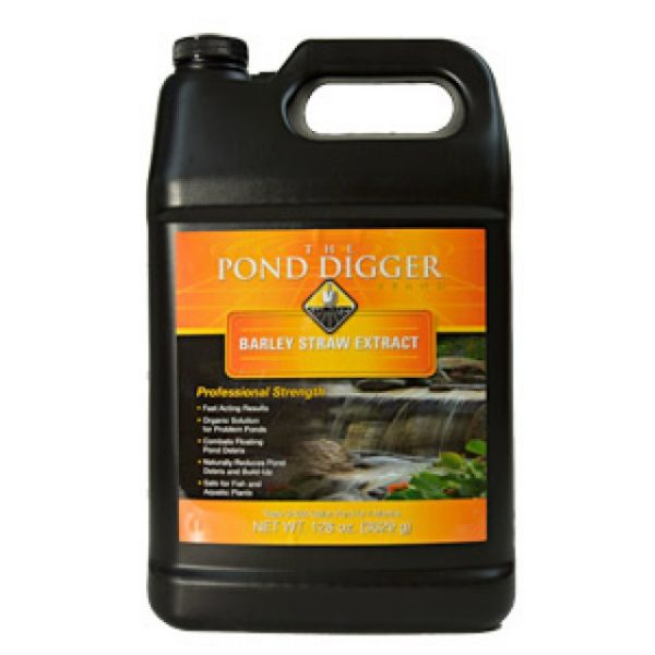 The Pond Digger Liquid Barley Straw Extract 128 oz