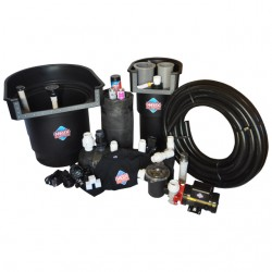 Helix external pump pond kit 8 x 11 x 3 the pond digger for Pond pump installation