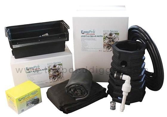 12-foot EasyPro Eco-Series Waterfall Kit