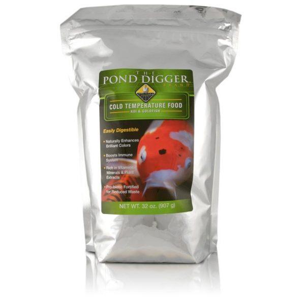 Cold Temperature Koi and Goldfish Food