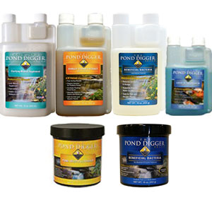 The Pond Digger Water Treatments